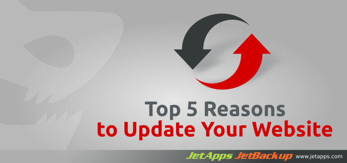 Reasons to update your website